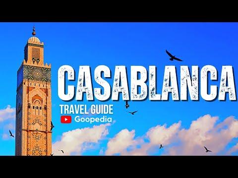 CASABLANCA Travel Guide, 5 best places in casablanca morocco !!