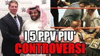 I 5 PPV di wrestling più CONTROVERSI di tutti i tempi