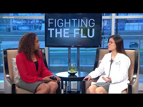 Fighting the flu: Treating a child's symptoms