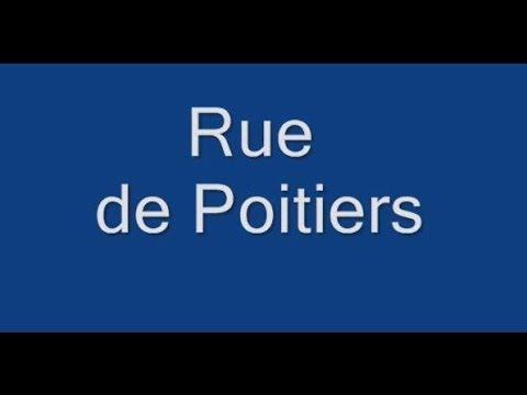 Rue de Poitiers Paris 7e arrondissement