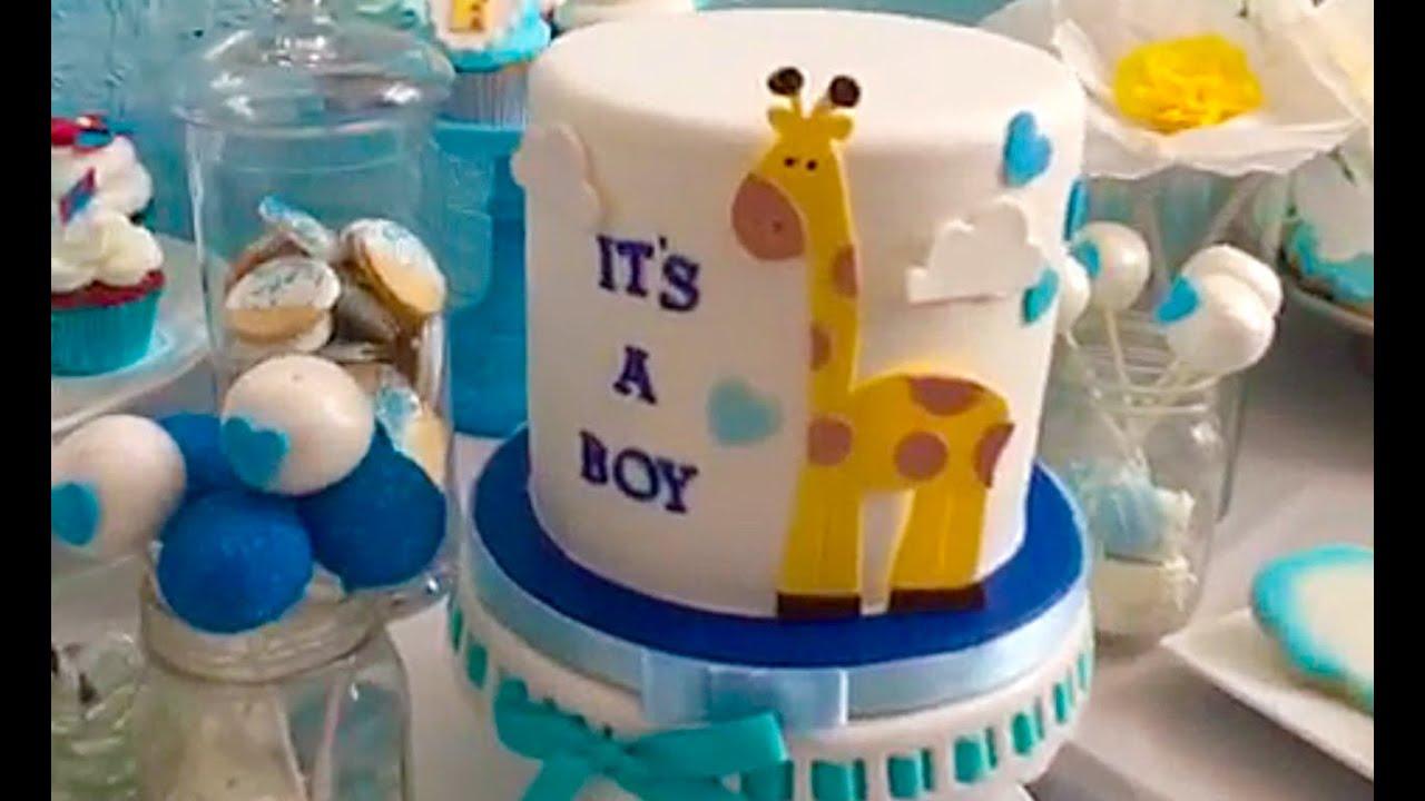 Mesa De Pastel Para Baby Shower.Cinderellacakes Com