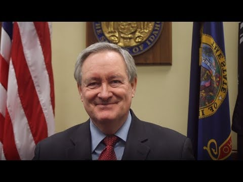 Senator Mike Crapo reacts to 2018 State of the Union