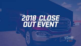 Close Out  Event  Cavender Buick Gmc West