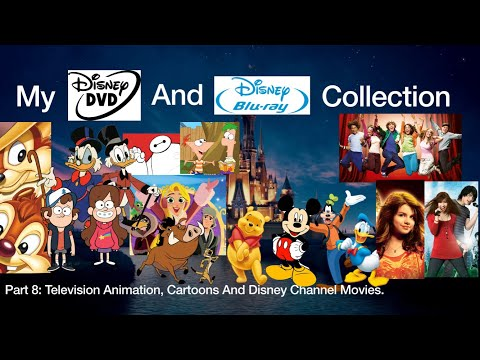 My Disney DVD And Blu Ray Collection Television Animation, Cartoons And More Part 8
