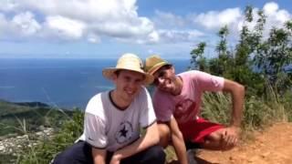 Une randonnée pas comme les autres à Mayotte... Le mont cho