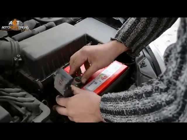 Аккумулятор на Kia Rio (Киа Рио), ставим Topla 60Ah R+ uni