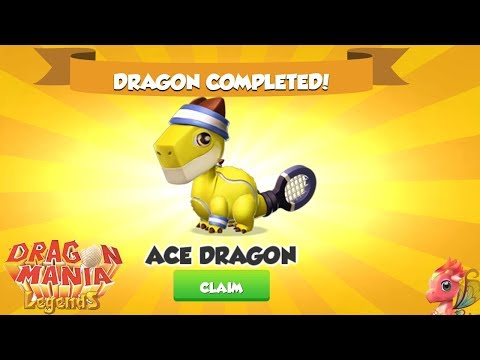 I Get the ACE Dragon  ( New Dragon ) - Dragon Mania Legends Walkthrough part 1107 HD