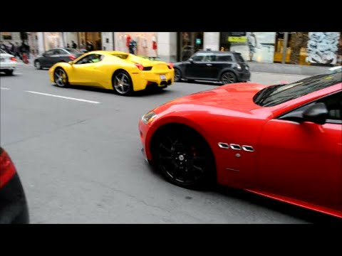 HOT CARS CRUISING MONTREAL GRAND PRIX WEEKEND PART 1 - EXOTIC LUXURY CLASSIC