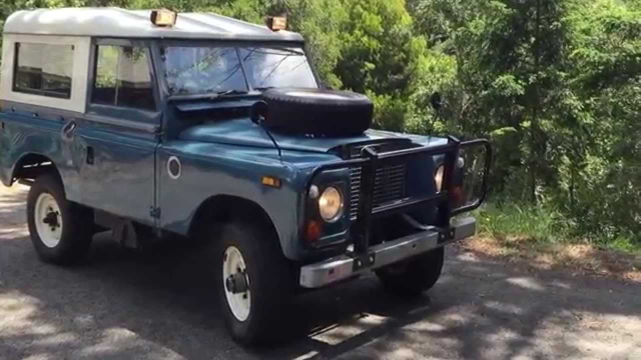 1971 LandRover Series IIA 88
