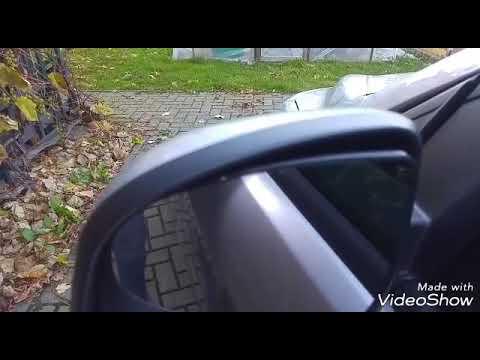 Как разобрать боковое зеркало на форд фокус 2 рестайл. Замена плафона указателя поворота.