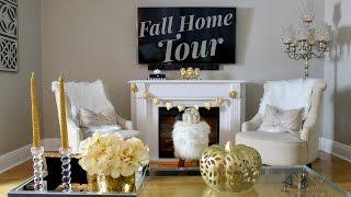 FALL Living & Dining Room Tour | 2016 KateLoveStyle