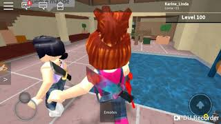 ROBLOX: Julia Minegirl was good at murder? Playing with girlfriends