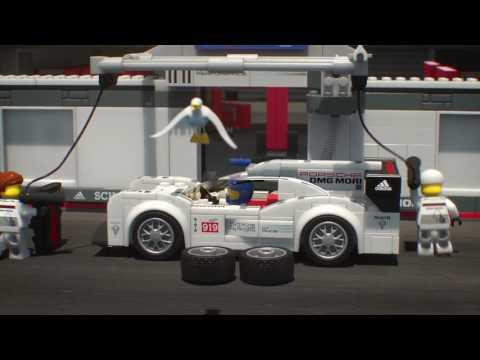 LEGO® Speed Champions: Porsche: Závodí a vítězí