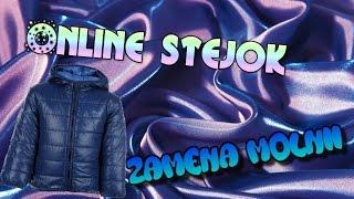 online STEJOK #1 Замена молнии на куртке