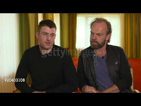 Hugo Weaving & James Frecheville Interview for Black 47 at the Berlinale 3