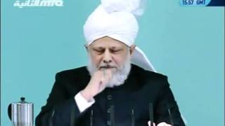Проповедь Хазрата Мирзы Масрура Ахмада (15-10-2010)clip-2.flv