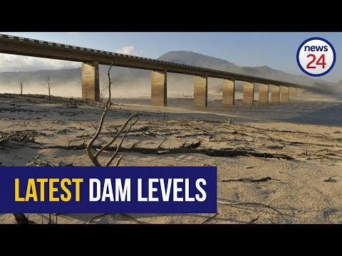 WATCH: Latest dam levels in water-starved Cape Town