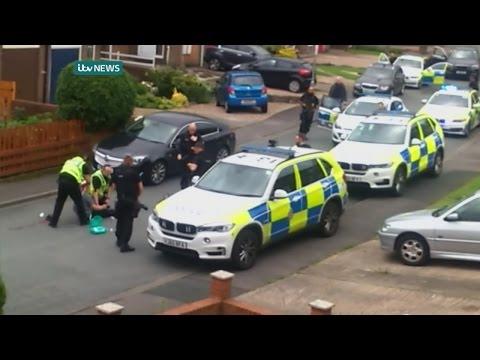 Amateur footage captures arrest of Jo Cox murder suspect
