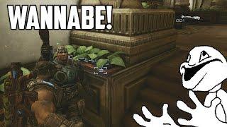 DAN THE MAN WANNABE! (Gears of War 3 Trolling)