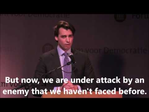 NAILED IT!! New Dutch right-wing leader exposes EU