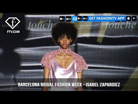 Isabel Zapardiez Art of Fencing Collection at Barcelona Bridal Fashion Week Part 1 | FashionTV | FTV