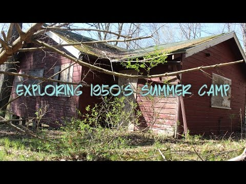 Exploring Abandoned 1950's Summer Camp