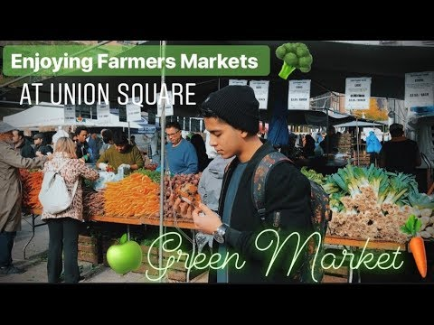 enjoying-farmers-markets-at-union-square-green-market-nyc- -vlog