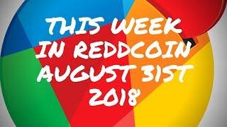 This Week in Reddcoin August 31st 2018