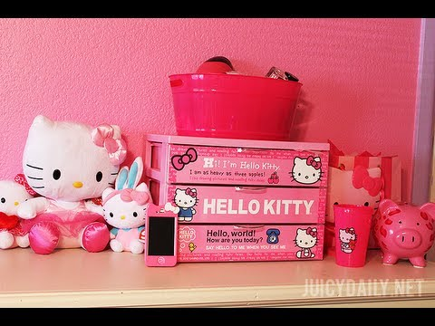 MY HELLO KITTY COLLECTION  Room Inspiration Episode 3  YouTube