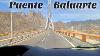 Conoce el puente Baluarte que conecta Sinaloa y Durango