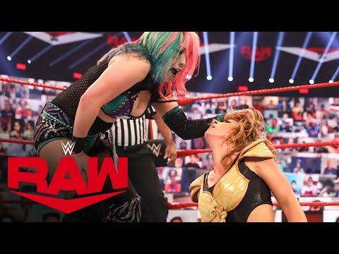Asuka vs. Mickie James – Raw Women's Championship Match: Raw, Sept. 14, 2020