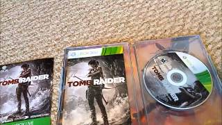 Tomb Raider Target Exclusive Steelbook Edition Unboxing & Corvette Hot Wheel Thrown In