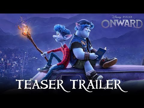 ONWARD  New Trailer - Chris Pratt & Tom Holland   Disney Pixar UK