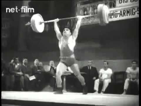 Киножурнал Советский спорт - 1954 №10 -  Тяжелая атлетика