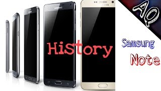 History of Samsung Galaxy Note Phones