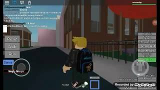 Roblox daily vlog - I GO TO COLLEGE