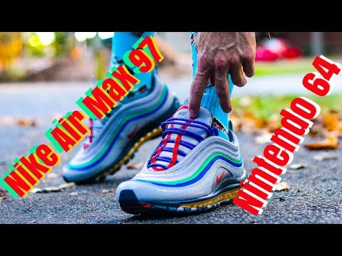Nike Air Max 97 Nintendo 64 Review On Feet Youtube