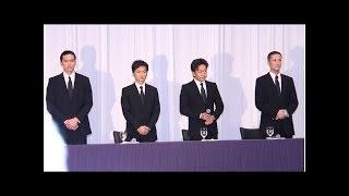 TOKIO:山口は辞任するが、音楽活動は4人で公然と謝罪し続ける.