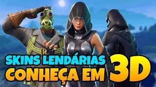 FORTNITE-3 NEW LEGENDARY 3D SKINS! -SEE BEFORE BUYING | PATCH v 4.4 BATTLE ROYALE