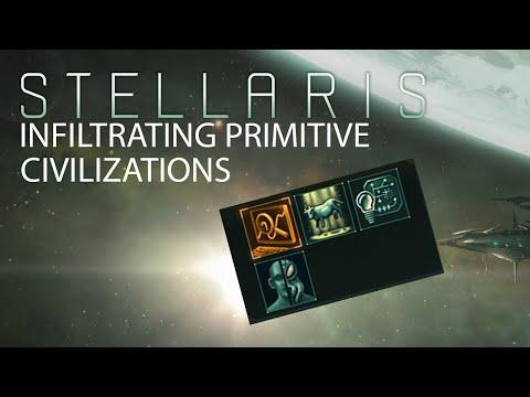 Stellaris - Infiltrating Primitive Civilizations