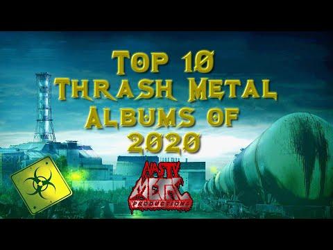 NMP   Top 10 Thrash Metal Albums of 2020