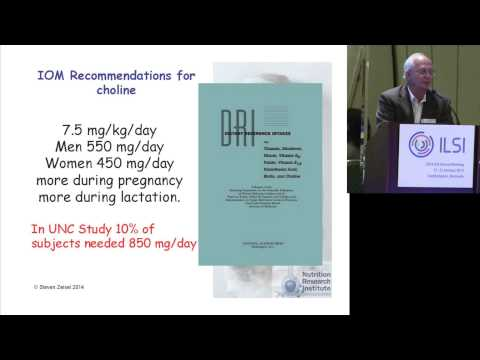 ILSI NA: Nutrigenomics, Dietary Requirements and Personalized Nutrition - Steve Zeisel, MD, PhD