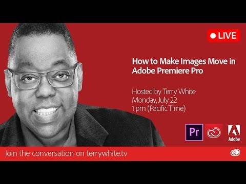 How To Make Images Move In Adobe Premiere Pro