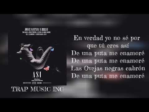 Asi Remix (Letra) Jon z X Ele A El Dominio X Myke Towers X  Casper X Brray X Joyce X Eladio  X Nio
