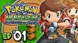 Pokemon Ranger Shadows of Almia Part 1 RANGER SCHOOL DS Gameplay Walkthrough