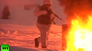 Arctic Drills RAW: Russian Northern Fleet snap exercises in severe weather