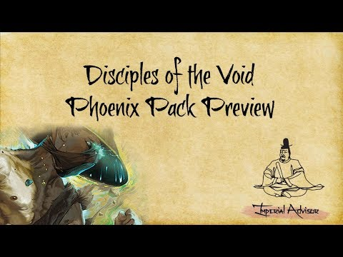 Episode 24 - Disciples of the Void Phoenix Clan Pack Review