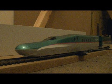 "Kato 3-516 E5 Series Shinkansen ""Hayabusa"" Model Train Pack (HO Scale) Review HD"