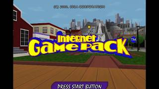 Internet Game Pack Unreleased Dreamcast Game (Feb 28, 2001 prototype)