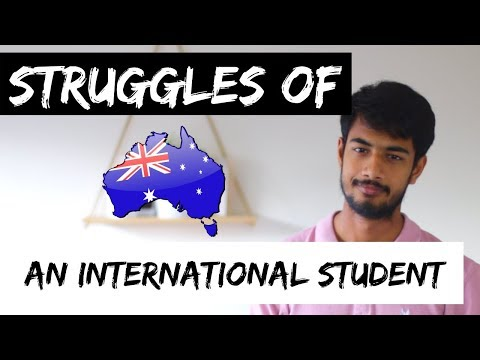 4 STRUGGLES Of EVERY International Student | Life In Australia